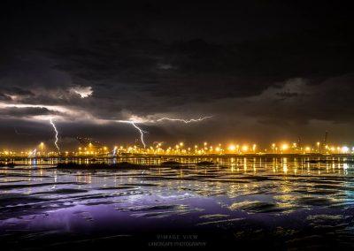 Stormjagen, zelfs in West-Vlaanderen