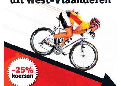 De koers verdwijnt uit West-Vlaanderen