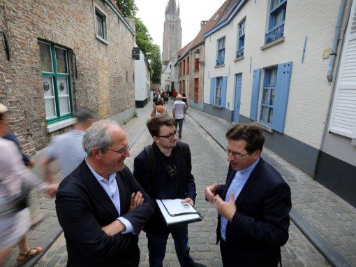 De twee leiders van Brugge