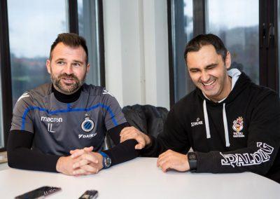 Kroatische kampioenenmakers: Dario Gjergja en Ivan Leko