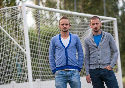 Eerste homokoppel in het voetbal (dat getuigt)